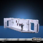 STAR WARS THE VINTAGE COLLECTION 3.75 INCH TANTIVE IV HALLWAY Playset oop 10