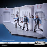 STAR WARS THE VINTAGE COLLECTION 3.75 INCH TANTIVE IV HALLWAY Playset oop 22