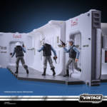 STAR WARS THE VINTAGE COLLECTION 3.75 INCH TANTIVE IV HALLWAY Playset oop 26