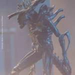 ALIENS HEADSHOT ALIEN WARRIOR PX FIGURE 004