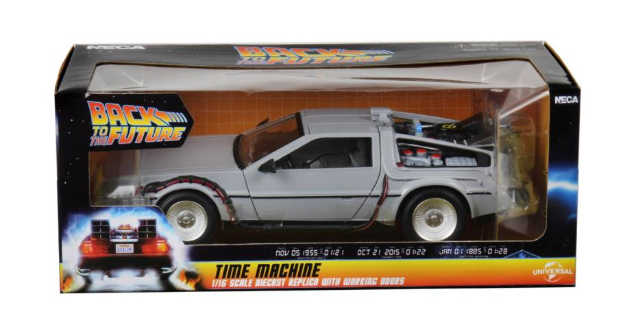 Back to the Future Dicast Time Machine Packaging 001
