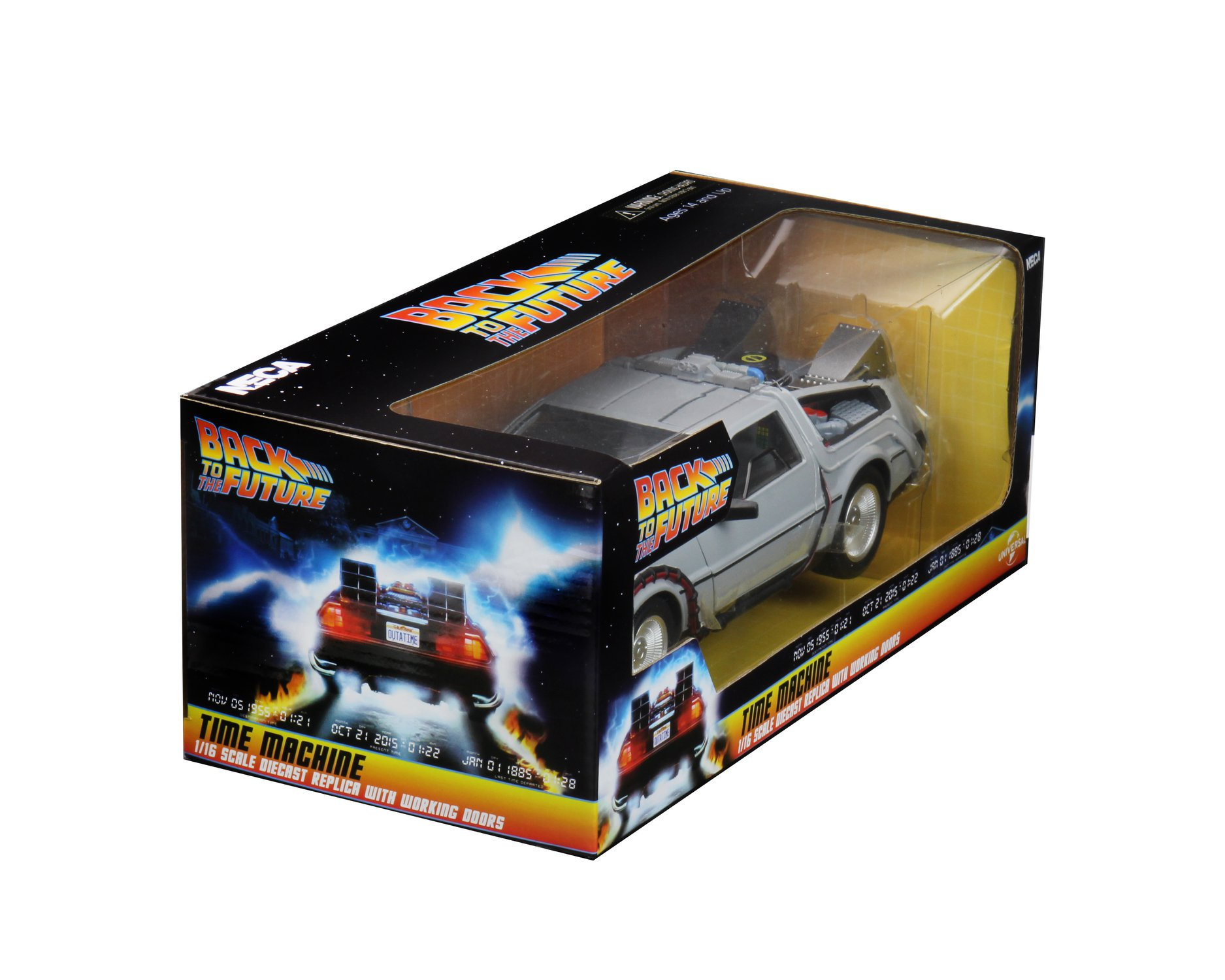 Back to the Future Dicast Time Machine Packaging 002