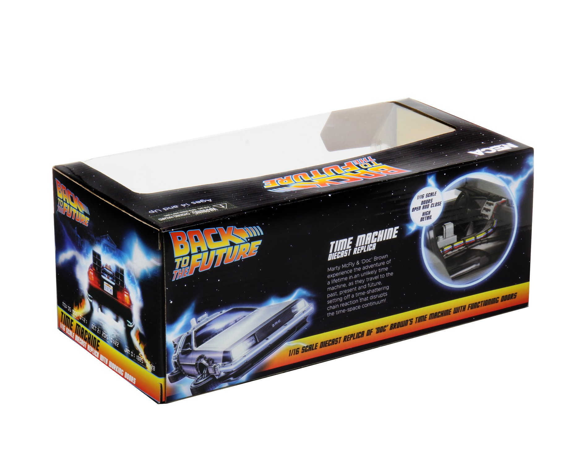Back to the Future Dicast Time Machine Packaging 003
