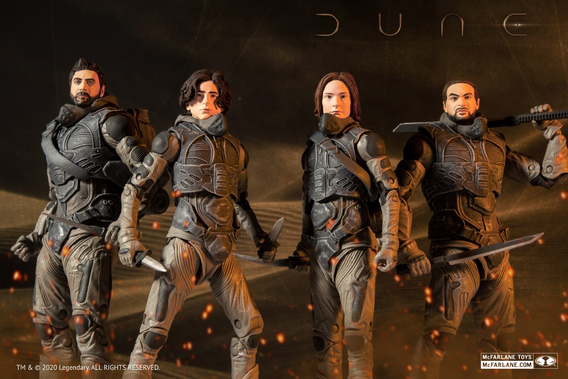Dune McFarlane Toys Preview