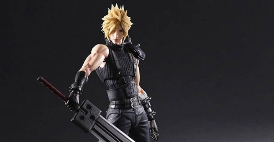 FF7R Cloud Play Arts Kai V2