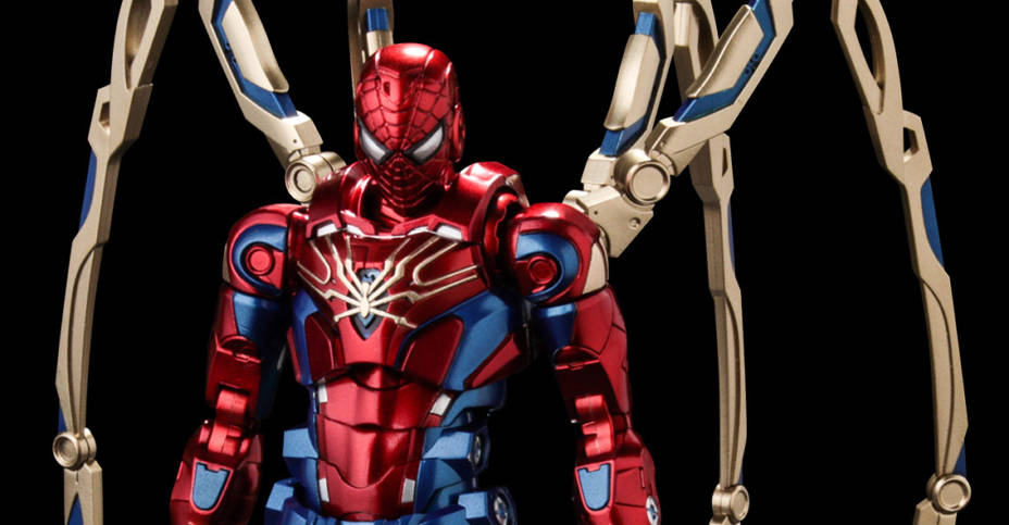 Fighting Armor Iron Spider 001