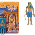 IRON MAIDEN POWER SLAVE PHARAOH EDDIE REACTION FIGURE