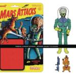 MARS ATTACKS DESTROYING A DOG REACTION FIGURE