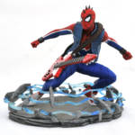 MARVEL GALLERY PS4 SPIDER PUNK PVC STATUE 001