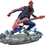 MARVEL GALLERY PS4 SPIDER PUNK PVC STATUE 002