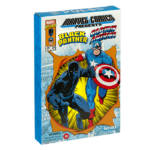 Marvel Legends Retro Black Panther and Captain America 001