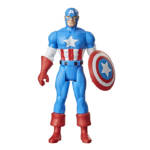 Marvel Legends Retro Black Panther and Captain America 005