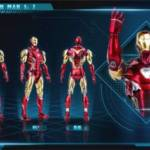 Mw Culture 1 7 Scale Iron Man MK85 002