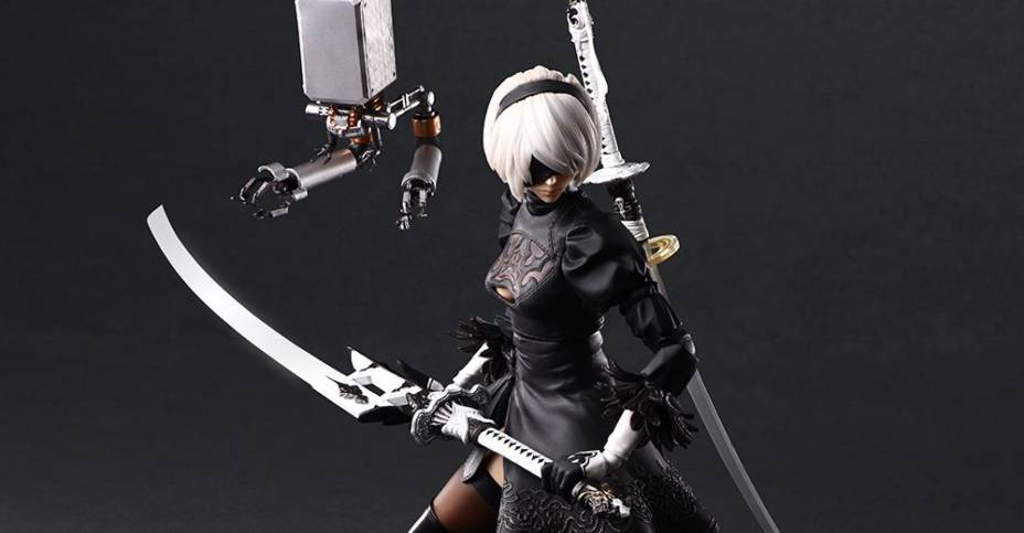 NieR Automata 2B Play Arts Kai DX 001