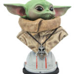 STAR WARS THE MANDALORIAN LEGENDS IN 3D THE CHILD BUST 002