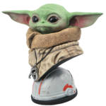STAR WARS THE MANDALORIAN LEGENDS IN 3D THE CHILD BUST 003