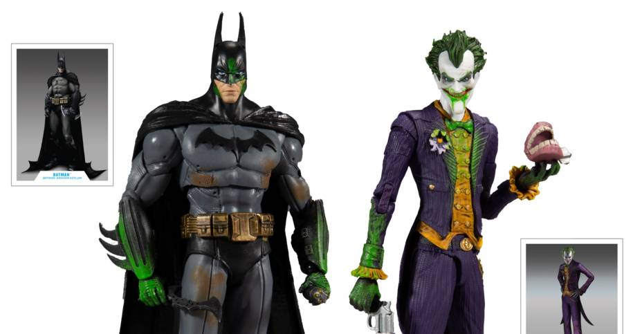 DC Multiverse Batman and Joker Set 001