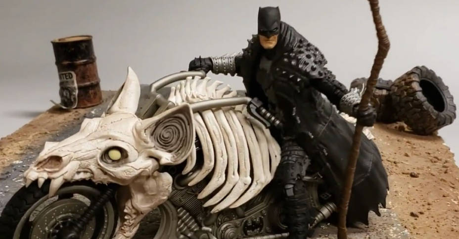 DC Multiverse Death Metal Batman Bike 001