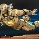 Hot Toys Iron Man XXI Midas Armor 006