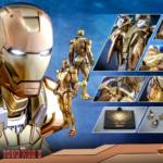 Hot Toys Iron Man XXI Midas Armor 018