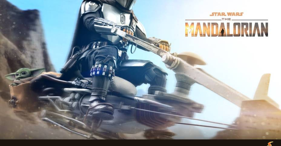 Hot Toys Mandalorian Speeder Bike Teaser