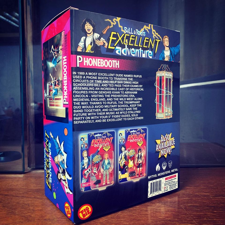 Incemdium Bill and Ted Phone Booth Packaging 003