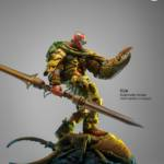 Klaw the space ravager House of Gog The Art of Pascal Blanché original art statue KLAW 070