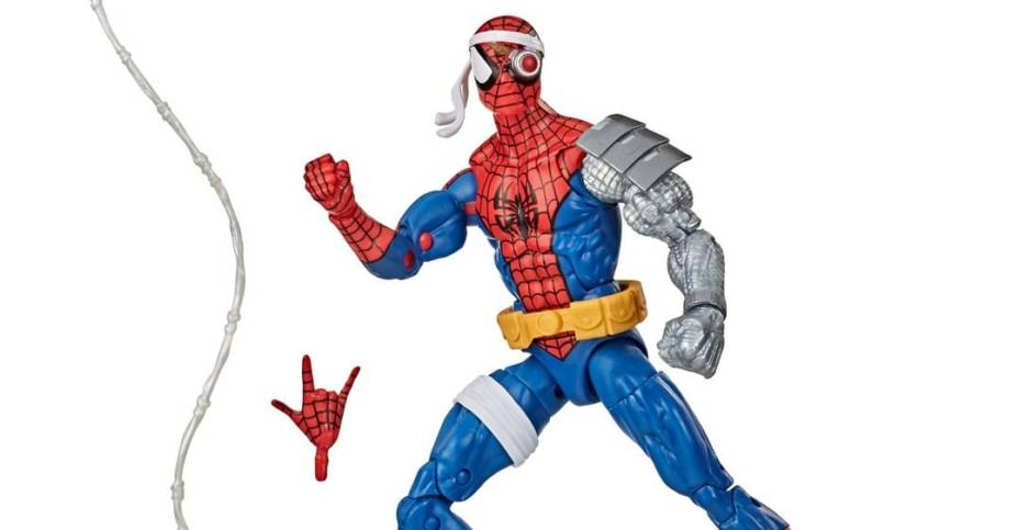 ML Retro Cyborg Spider Man 002