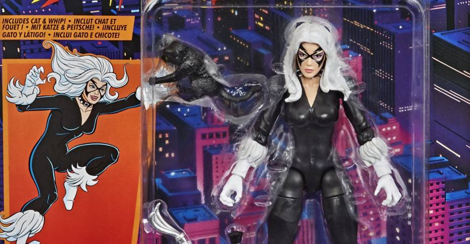 Marvel Legends Retro Black Cat 001