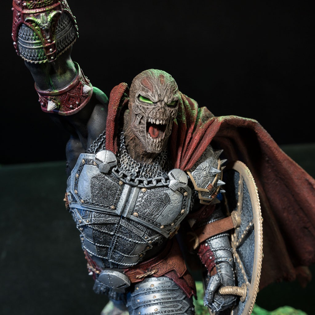 Medieval Spawn Statue 2