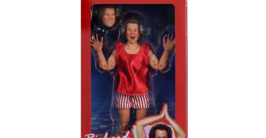 NECA Richard Simmons Packaging 001