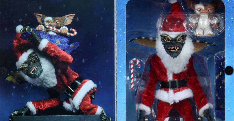 NECA Santa Gremlin Packaging 004
