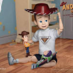 Toy Story andy DAH 007