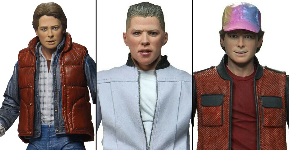 Ultimate BTTF Released NECA