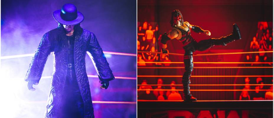 WWE Elite 30th Undertaker and Decade of Domination Kane Gallery