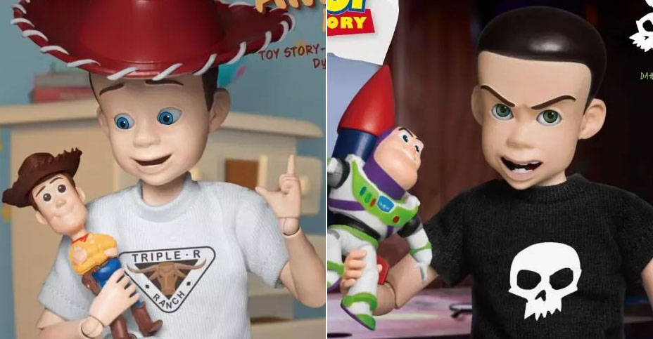 z DAH Toy Story Andy and Sid
