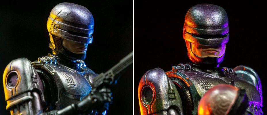 Robocop 1 and 2 Figures by Hiya Toys - Toyark Photo Shoot