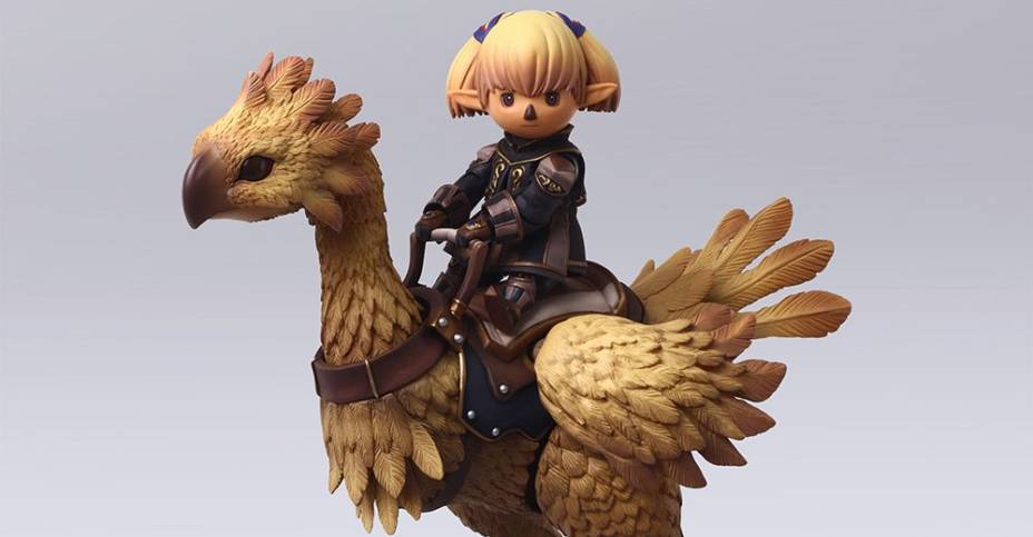 FFXI Bring Arts Lady Shantotto and Chocobo 001