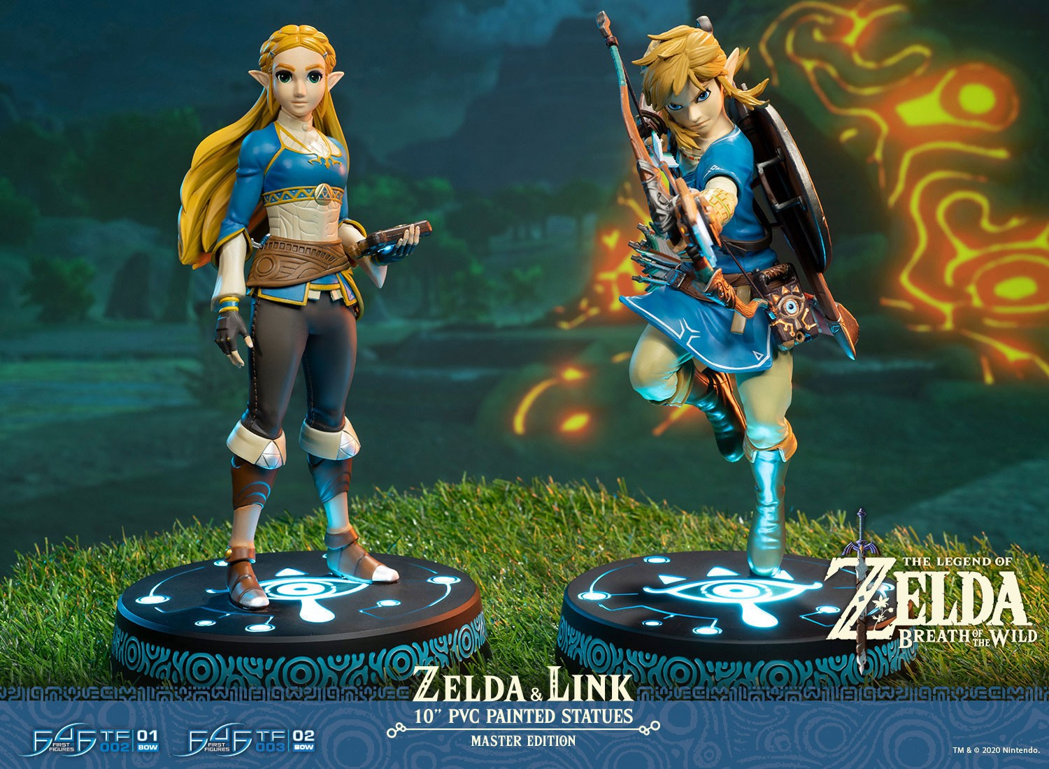 First 4 Figures Zelda Breath of the Wild Master Edition 002
