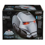 HASBRO MARVEL LEGENDS SERIES WAR MACHINE ELECTRONIC HELMET in pck