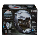 HASBRO MARVEL LEGENDS SERIES WAR MACHINE ELECTRONIC HELMET in pck 2