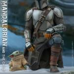 Hot Toys Mandalorian and The Child Quarter Scale Set 001