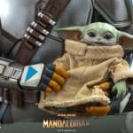 Hot Toys Mandalorian and The Child Quarter Scale Set 010