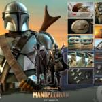 Hot Toys Mandalorian and The Child Quarter Scale Set 017
