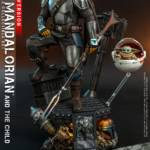 Hot Toys Mandalorian and The Child Quarter Scale Set DX 001