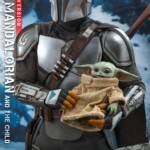 Hot Toys Mandalorian and The Child Quarter Scale Set DX 002
