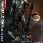 Hot Toys Mandalorian and The Child Quarter Scale Set DX 009