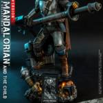 Hot Toys Mandalorian and The Child Quarter Scale Set DX 012