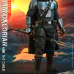 Hot Toys Mandalorian and The Child Quarter Scale Set DX 015