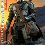 Hot Toys Mandalorian and The Child Quarter Scale Set DX 017